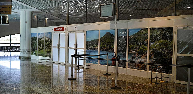 halls Aéroport 1 Toulon/hyères 2016