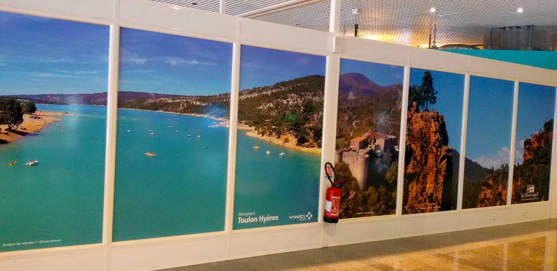 halls Aéroport 4 Toulon/hyères 2016